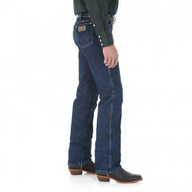 Джинсы Wrangler® Cowboy Cut® Slim Fit Jean 100% Heavyweight Cotton Denim Dark Stone Color (рост 190-210см)